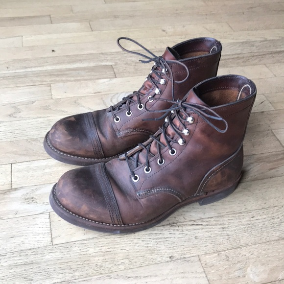 Red Wing Shoes Shoes Iron Ranger Boots Poshmark